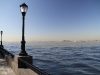 Blick auf Statue of Liberty