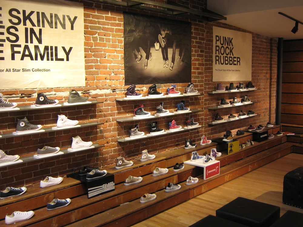 Converse Retail Store Boston