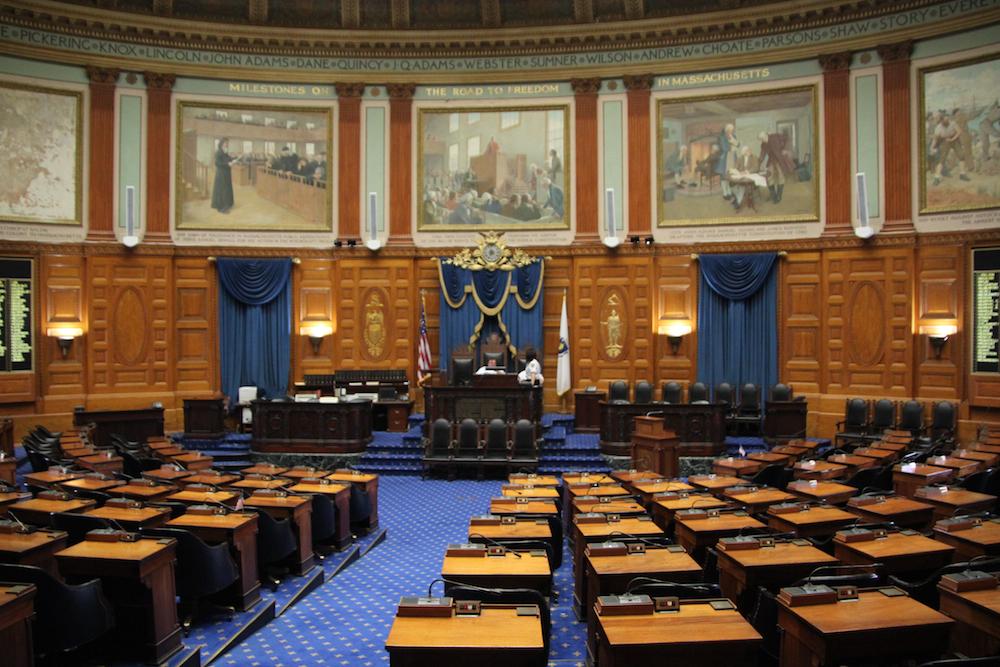 Repräsentantenhaus im Massachusetts State House