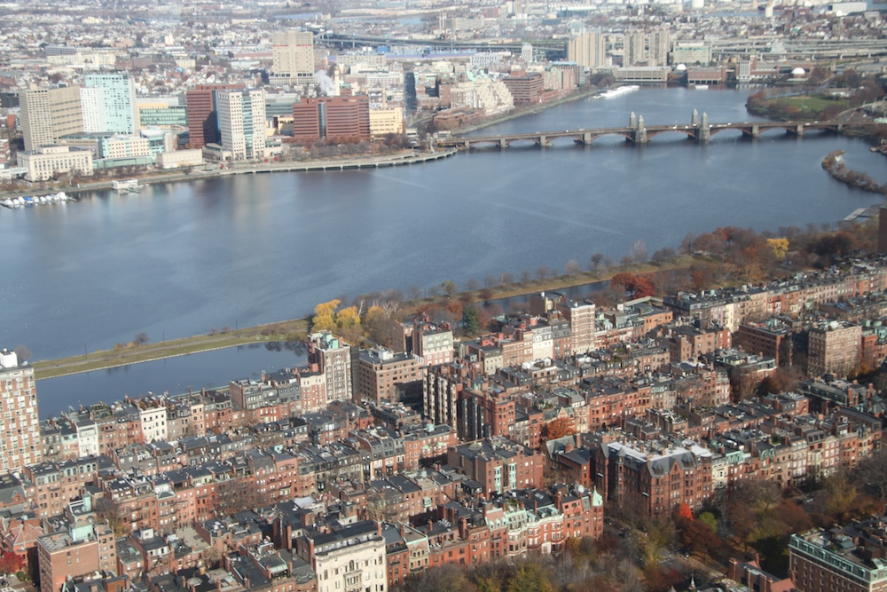 Charles River mit Back Bay