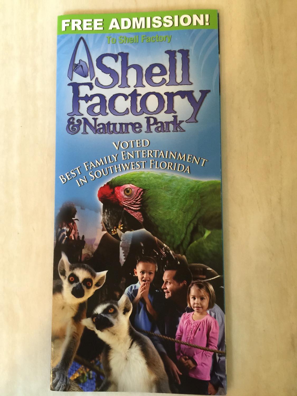 Shell Factory Broschüre