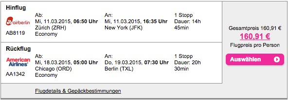 Error Fare Für 161 Mit Air Berlin Nach New York Wwwfrankgayercom