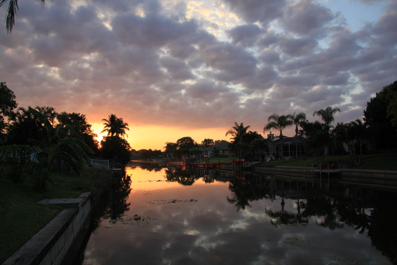 Sonnenaufgang Villa Blue Horizon