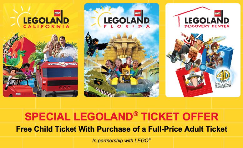 Legoland Sonderangebot